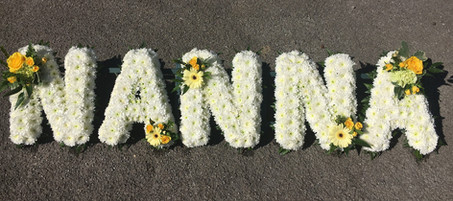 NANNA Funeral Letters