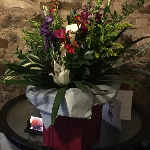 Aqua bouquets delivered