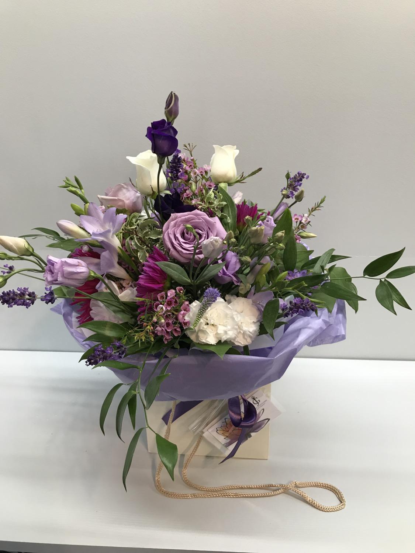 Wedding thank you bouquet