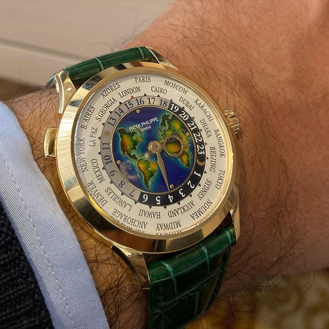 Patek Philippe World Time 5231 - a must