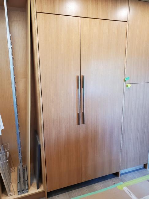 Hidden Refrigerator Installation