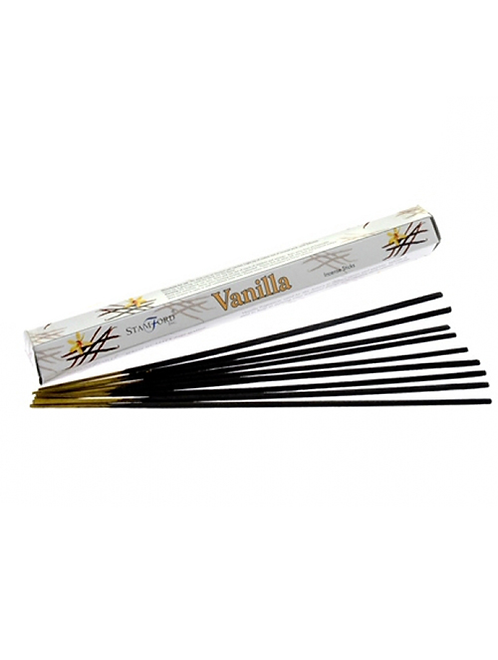 Vanilla Incense Sticks to create the perfect mood for relaxation and spiritual healing