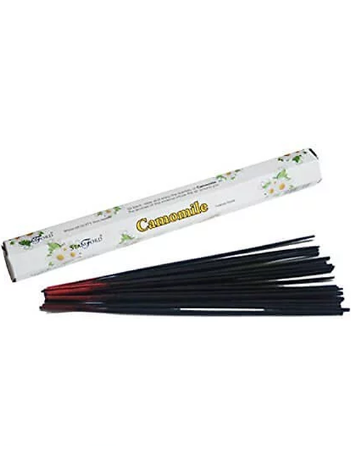 Camomile Incense Sticks to create the perfect mood for relaxation and spiritual healing