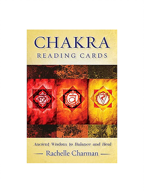 Chakra Reading Cards for spiritual guidance and mediation readings