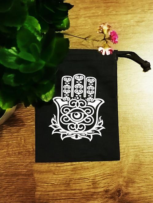 Hamsa Tarot Card Bag