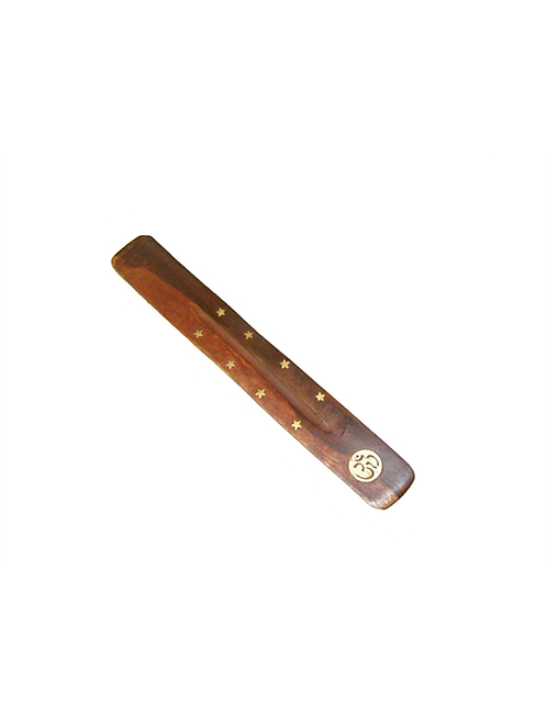 Om incense holder for incense sticks to create the perfect mood for relaxation and spiritual healing