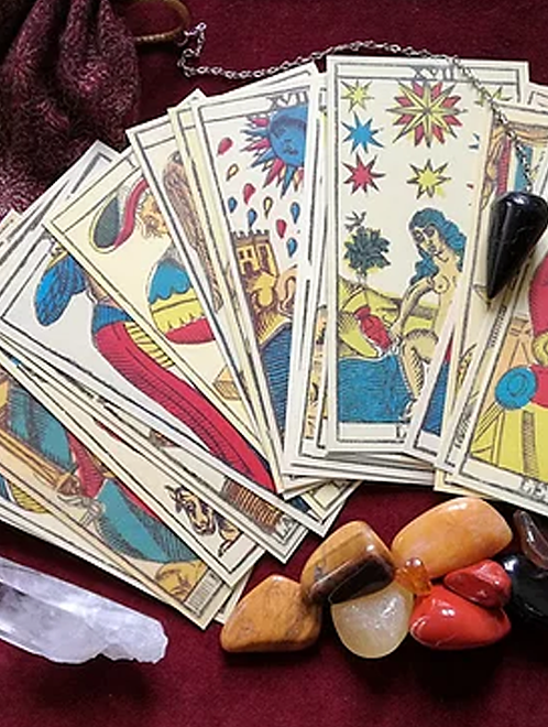 Tarot card reading for spiritual guidance and divine clarity