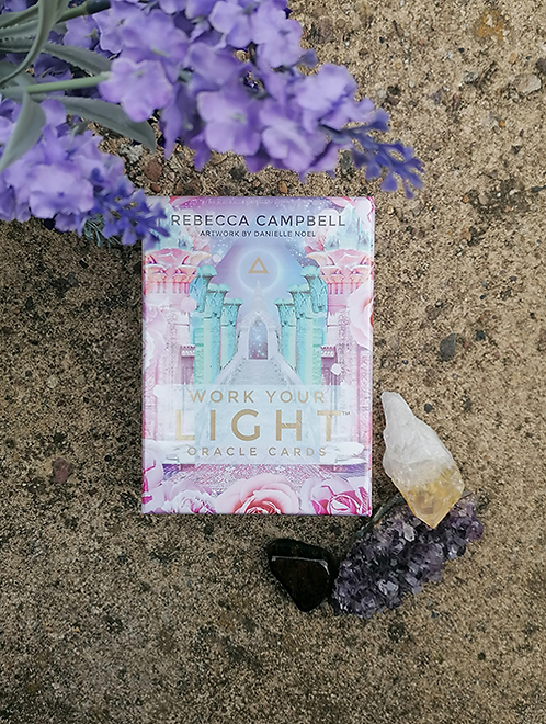 Work Your Light Oracle Cards for spiritual guidance and mediation readings