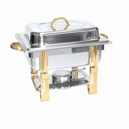4 Qt. Stainless Steel Chafer