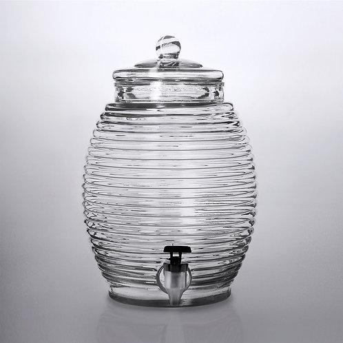 2.9 Gallon Glass Beverage Dispenser