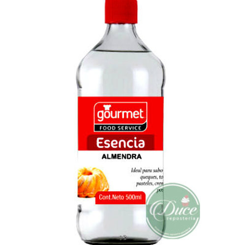 Esencia Almendra 500 ml.  Gourmet