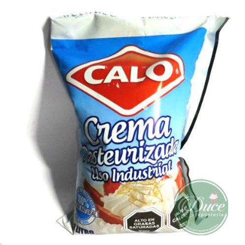 Crema Pasteurizada Calo, 6x1 Lt.