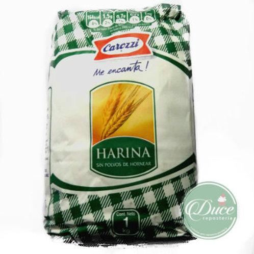 Harina Sin Polvos Carozzi, 1 Kg.