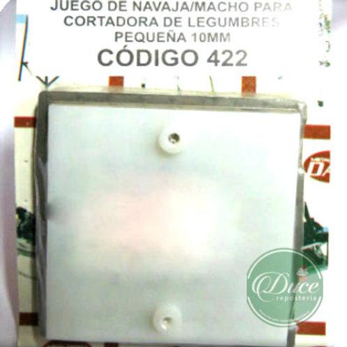 Repuesto 10 mm. Cortadora Legumbres Chica