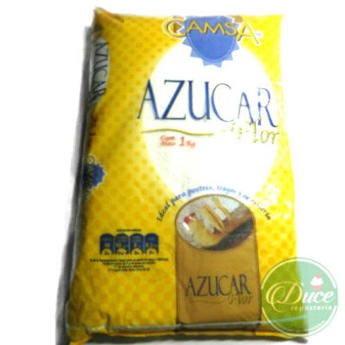 Azúcar Flor Camsa, 10X1 Kg.