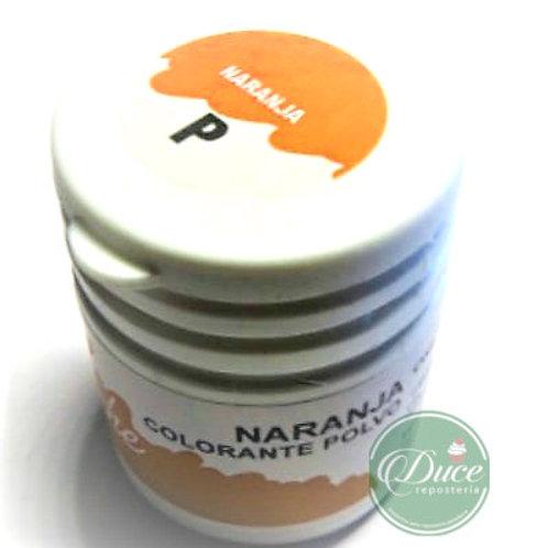 Colorante Polvo Naranja Sabor y Color.15 grs.