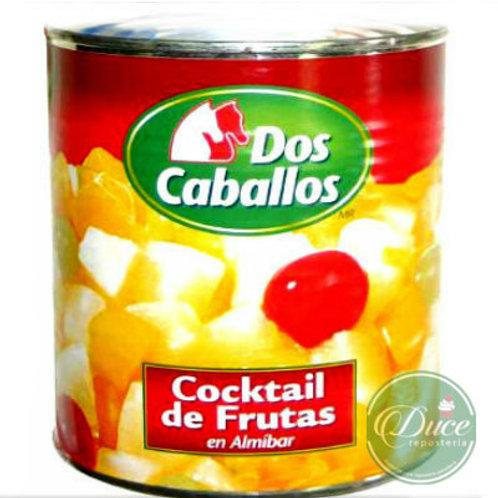 Conserva Cócktail de Fruta Dos Caballos, 3 Kgs.