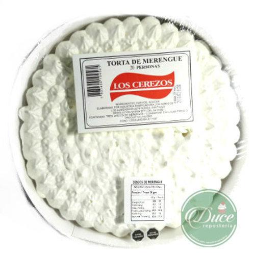 Disco Torta Merengue Los Cerezos, 20 Personas