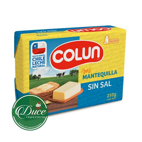Mantequilla Colún, 250 Grs.