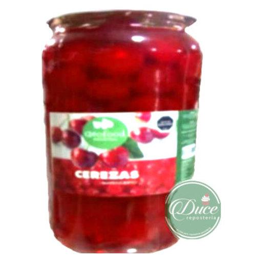 Cerezas Marraschino Rojo Geofood, 6x3,4 Kgs.