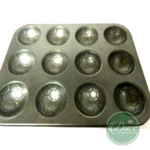 Molde Cupcakes Figuras 12 un. Teflón