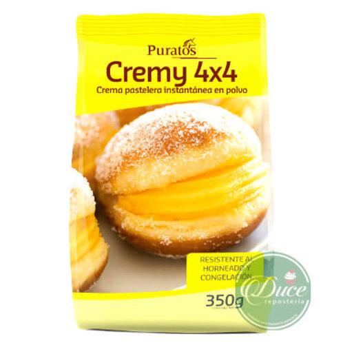 Base Crema Pastelera Cremy 4x4 Puratos, 350 Grs.