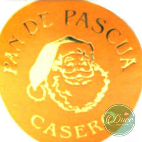 Etiqueta Pan de Pascua Casero 50 unid