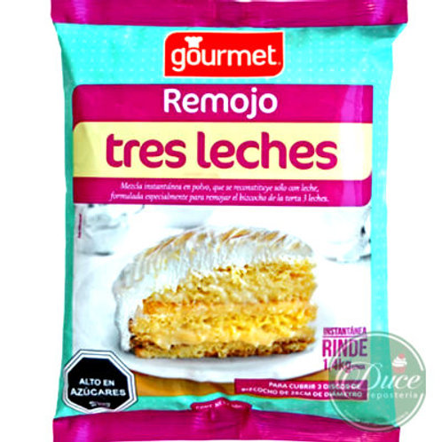 Base Remojo Tres Leches Gourmet, 400 grs.