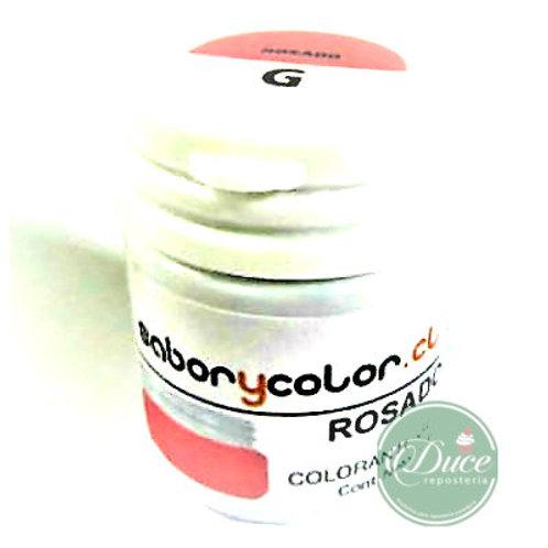 Colorante Gel Rosado Sabor y Color, 20 grs.