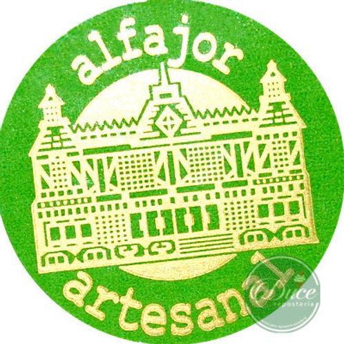Etiqueta Alfajor Artesanal