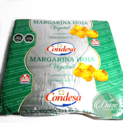 Margarina Condesa Vegetal Watts, 1 Kg.