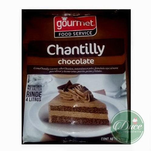 Base Crema Chantilly/Chocolate Gourmet, 370 Grs.