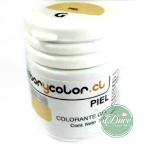 Colorante Gel Ivory Sabor y Color, 20 grs.