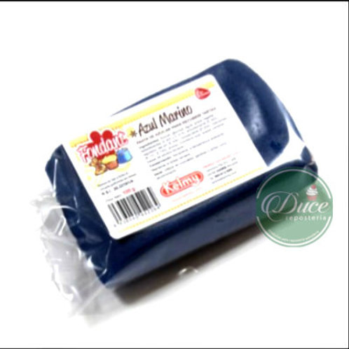 Fondant Azul Marino, 100 grs.