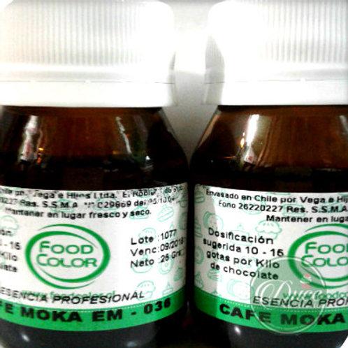 Esencia Café Moka p.Chocolate Food Color 25 grs.