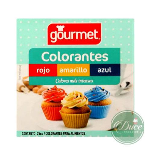 Colorante Gourmet 3 Colores