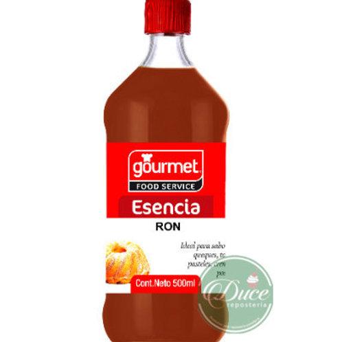 Esencia Ron 1 Litro Gourmet