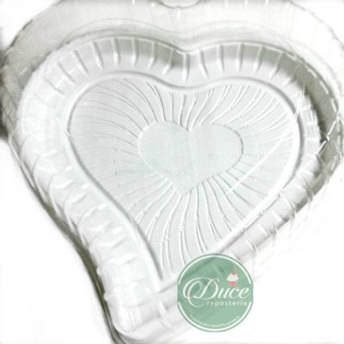 Envase Torta Corazón G-50H