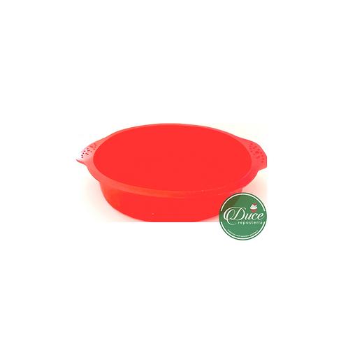 Molde silicona queque redondo 23 cm