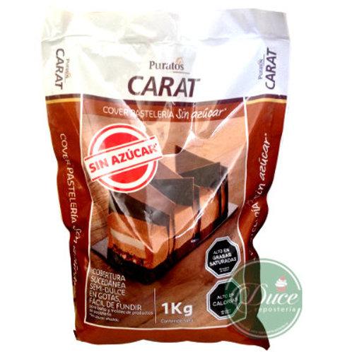 Cobertura Carat Puratos sin azúcar, 1 Kg.