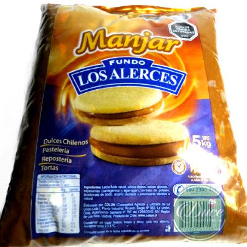Manjar Los Alerces, 5 Kgs.