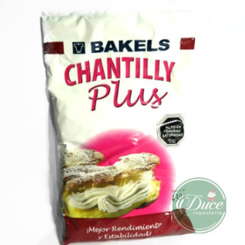 Base Crema Chantilly Plus Bakels, 430 grs.