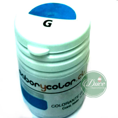 Colorante Gel Azul Rey Sabor y Color, 20 grs.