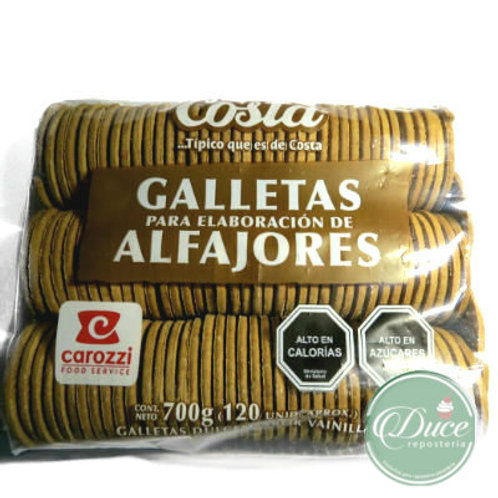 Galleta Alfajor Costa, 120 Unidades