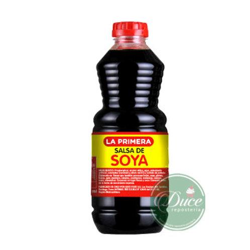 Salsa Soya La Primera, 250 cc.