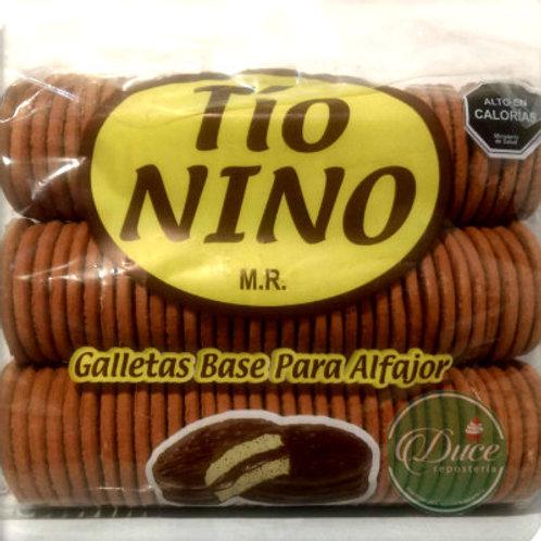 Galleta Alfajor Tío Nino, 100 Unidades