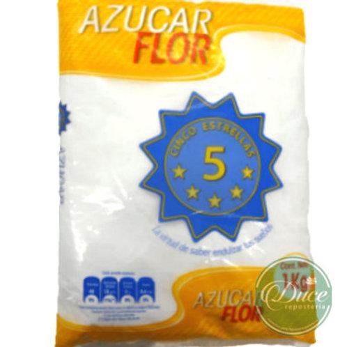 Azúcar Flor 5 Estrellas, 1 Kg.