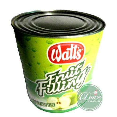 Conserva Fruit Filling Watts Manzana, 3 Kgs.