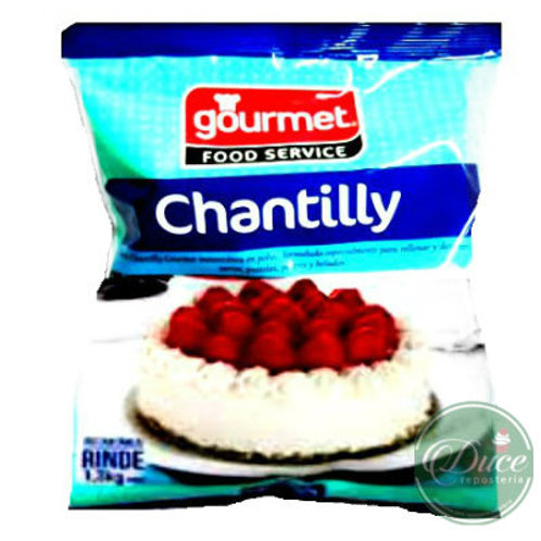Base Crema Chantilly Natural Gourmet, 420 Grs.