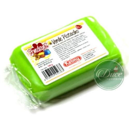 Fondant Verde Pistacho, 100 grs.